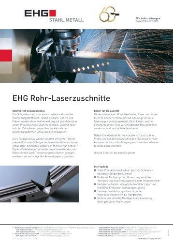 EHG Produktblatt Rohr-Laserzuschnitte DE 2018