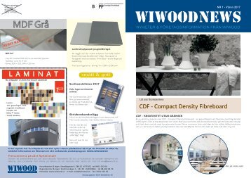 Wiwood News 2017 våren