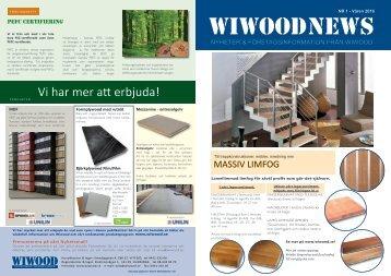 Wiwood News 2016
