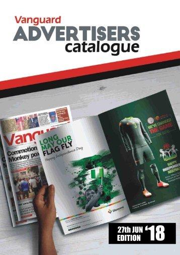 advert catalogue 27 June 2018
