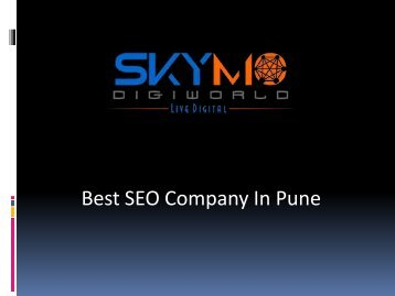 Top SEO company in Pune | SEO sevices | Skymo Digiworld