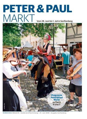 Peter und Paul Markt - Senftenberg 2018