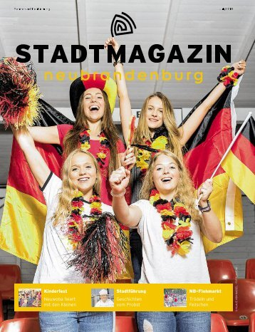 Stadtmagazin Juli