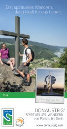 Spirituelles Wandern am Donausteig