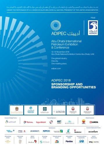 ADIPEC Sponsorship Brochure