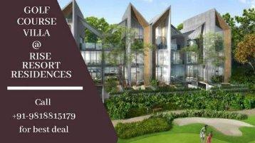 Rise Resort Residences Noida