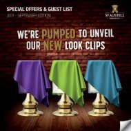 Special Offers & Guest List : Jul - Sep Edition