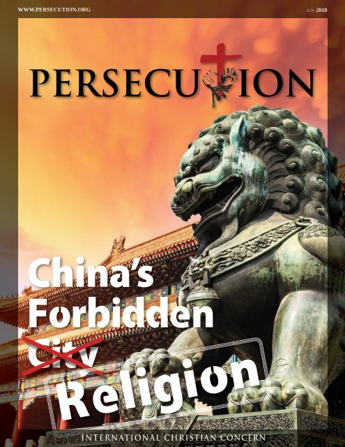 July 2018 Persecution Magazine (2 of 4)
