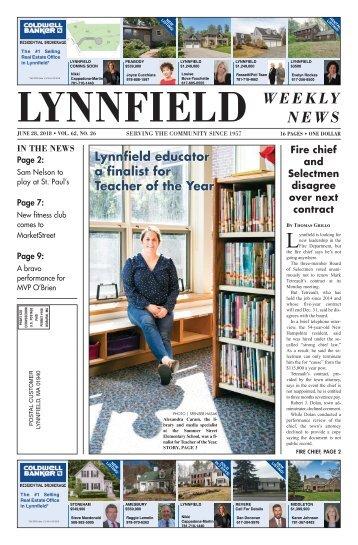 Lynnfield 6-28-18