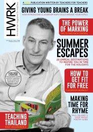 HWRK Magazine: Issue 04 - Summer 2018