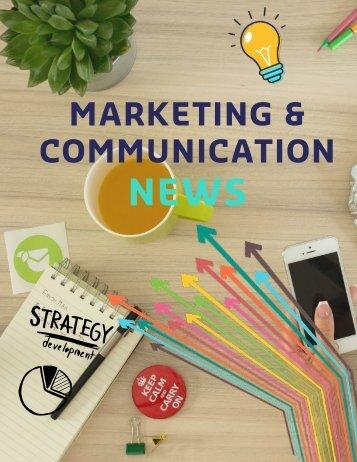 MARKETING & COMMUNICATION NEWS
