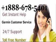 Garmin Customer Support 1888-678-5401 | Map Update and Nuvi updates