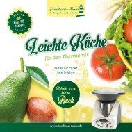 Landhaus-Team: Leichte Küche für den Thermomix