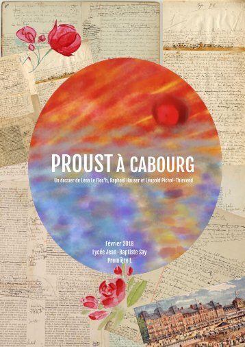 Proust à Cabourg - Seconde édition