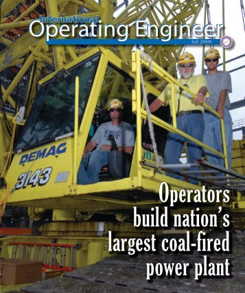 Fall 2009 - International Union of Operating Engineers