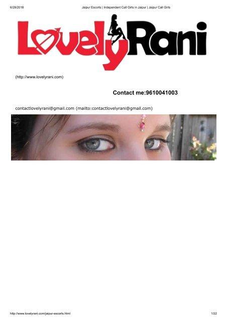 High Profile Escorts in Jaipur