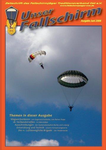 Themen in dieser Ausgabe - Fallschirmjäger-Traditionsverband Ost ...