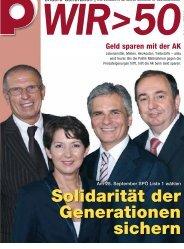 Solidarität der Generationen sichern - Pensionistenverband ...