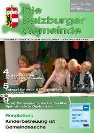 Die Salzburger Gemeinde - Kommunalnet