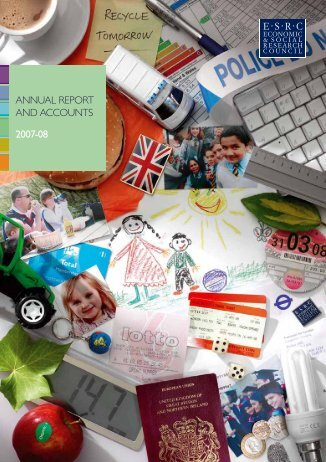 esrc annual report and accounts for 2007-08 - Official Documents