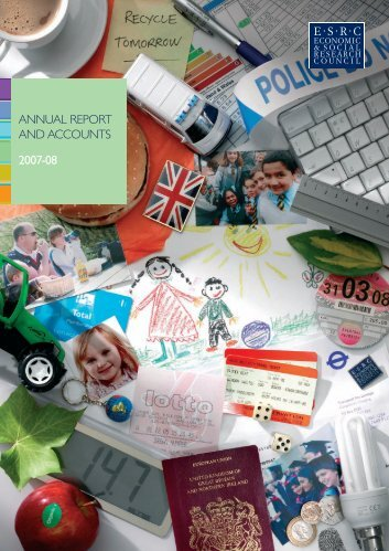 ANNUAL REPORT AND ACCOUNTS 2007-08 - University of Leicester