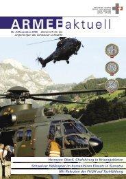 ARMEE aktuell 2/05 - Schweizer Luftwaffe