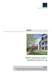 IMMAC Pflegezentren Austria X Renditefonds GmbH & Co. KG