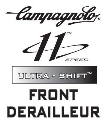 front derailleur ultra - shift - Campagnolo