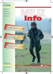 freiwillige milizarbeit - Österreichs Bundesheer