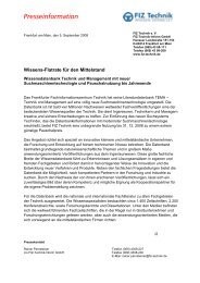 Presseinformation - PresseBox
