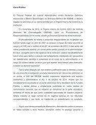 Carta Pública - MS