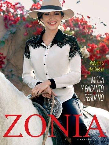 Zonia - ¡Estamos de fiesta! Moda y encanto peruano