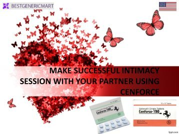 MAKE SUCCESSFUL INTIMACY SESSION WITH YOUR PARTNER USING CENFORCE