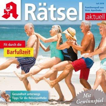 """Leseprobe """"Rätsel-aktuell"""" Juli 2018"""