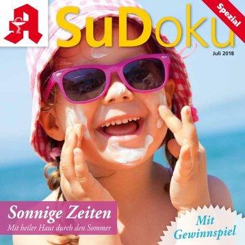 Leseprobe Sudoku-spezial Juli 2018