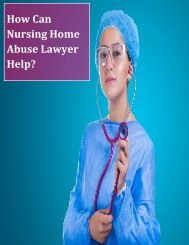 How Can Nursing Home Abuse Lawyer Help?