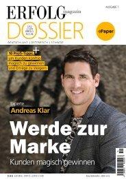 Erfolg Magazin Dossier: Andreas Klar