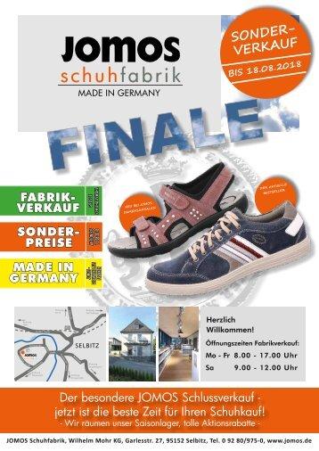 JOMOS Schuhfabrik - 07.07.2018