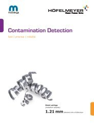 Contamination Detection 1704M