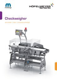 Checkweigher HKW 1704M