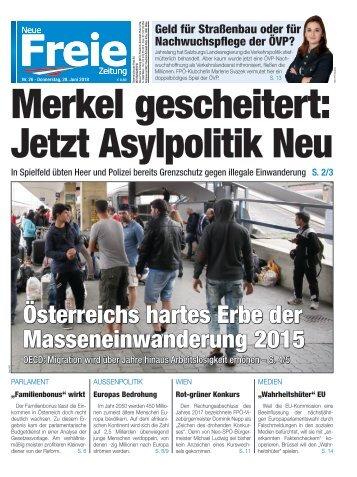 Merkel gescheitert: Jetzt Asylpolitik Neu