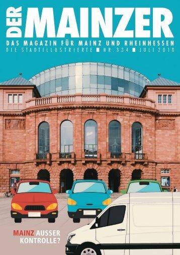 DER MAINZER - Das Magazin für Mainz und Rheinhessen - Nr. 334
