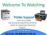 Contact +44-800-046-5700 Epson printer drivers not working over WiFi