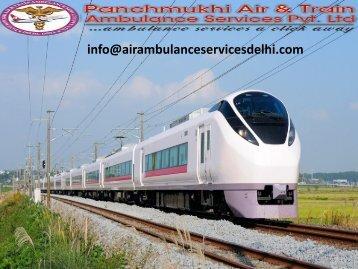 Low-budget Train Ambulance service in Kolkata