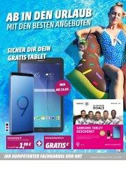 Telekom Monatsflyer Juli