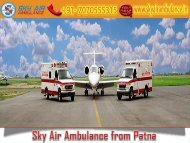 Receive Air Ambulance from Patna at a Low Price by Sky Air Ambulance