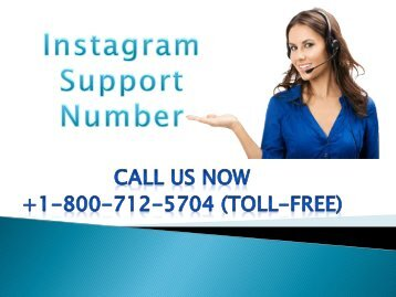 Dial Instagram Support Number +1-800-712-5704 (Toll-Free) to contact experts.