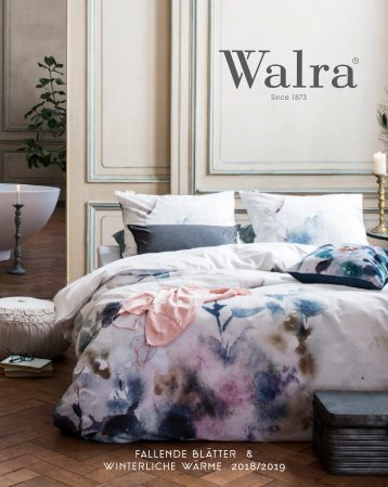 Walra Catalogus Winter 2018/2019 DE
