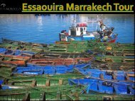 Essaouira Marrakech Tour