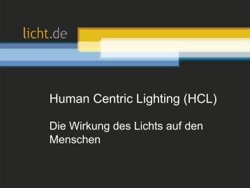 Präsentation: Human Centric Lighting